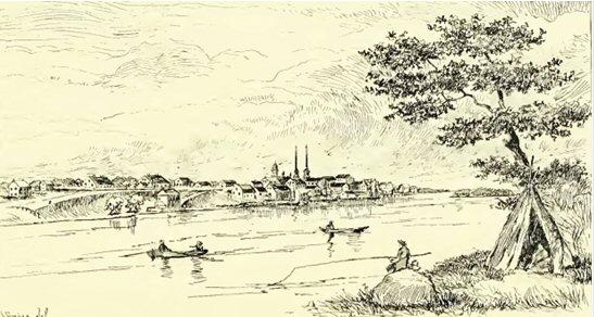 2 Detroit river 1820s