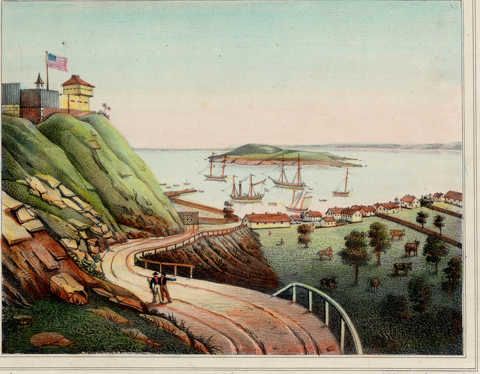 Fort Mackinac 1842