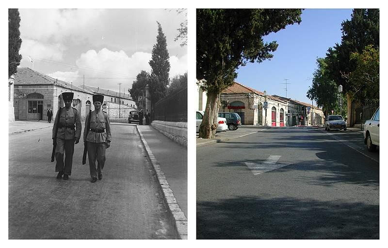 jerusalem queen helena street 1941