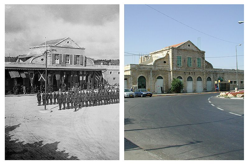 jerusalem railway station 1933