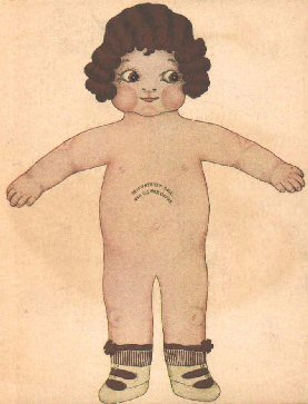 Small Paper Doll Naked